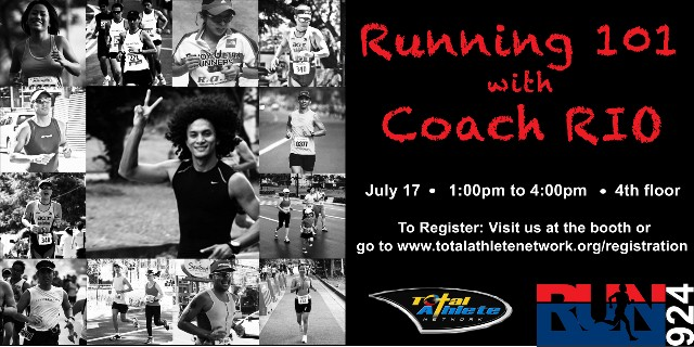 Running 101 with Coach Rio