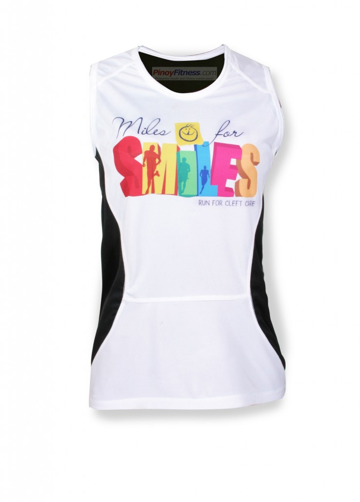 Miles for Smiles 2010 - Singlet Design