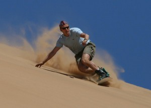 Sand Boarding in Ilocos