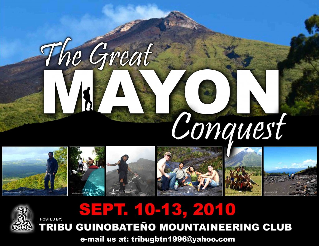 THE GREAT MAYON CONQUEST 2010