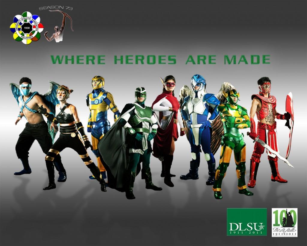 UAAP Season 73 Heroes