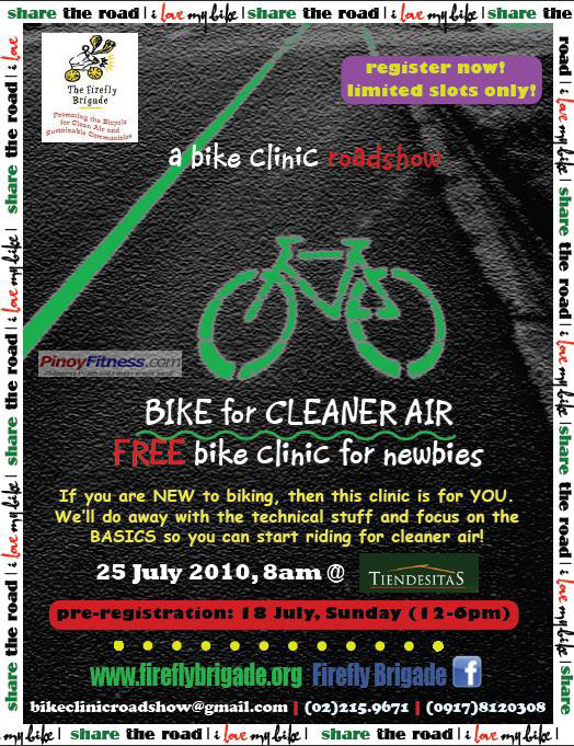FREE bike clinic for newbies firefly brigade