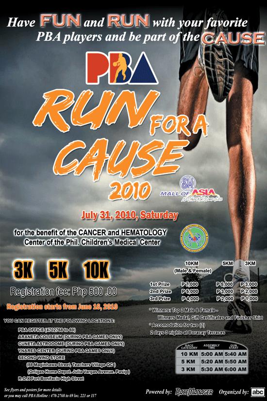 pba run for a cause 2010