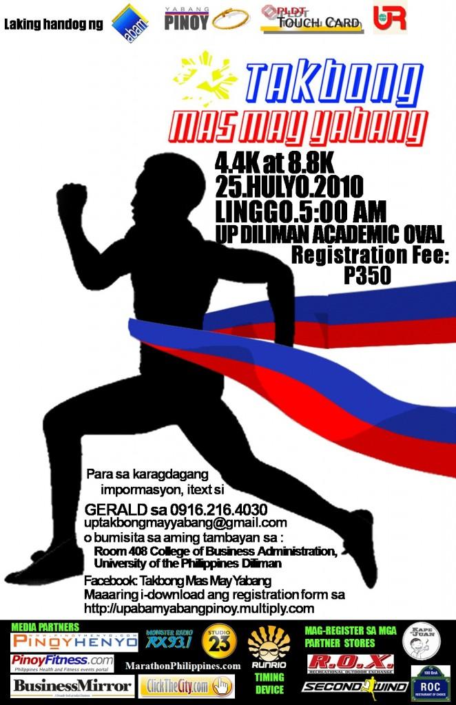 Takbong Mas May Yabang Race Results