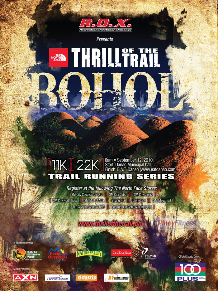 TNF Thrill of the Trail Bohol Results