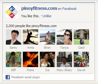 pinoyfitness facebook fans