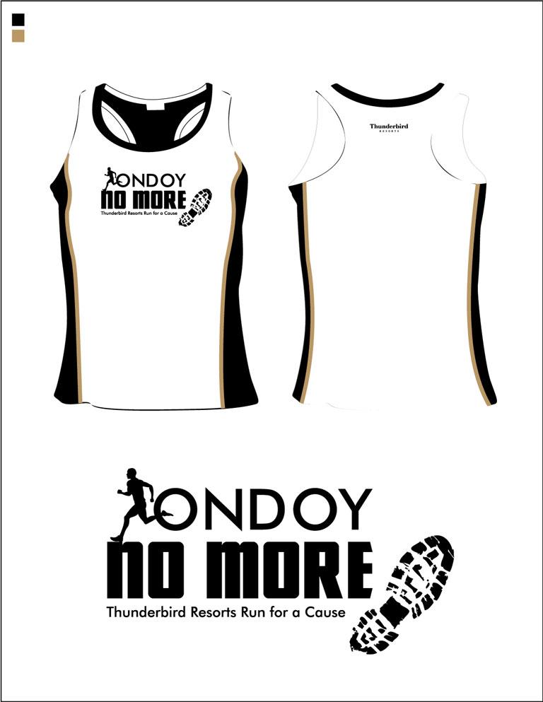 Ondoy No More Singlet Design