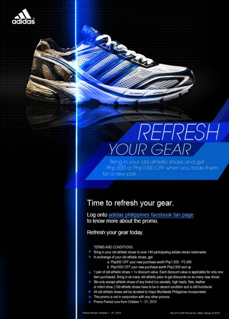 Adidas Refresh Your Gear Promo 2010