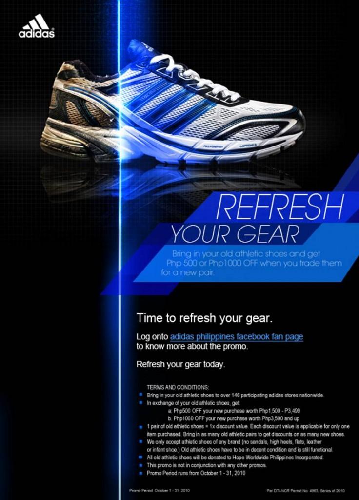 Adidas Refresh Your Gear Promo 2010