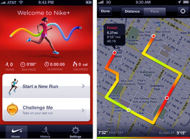 nike+ GPS app review