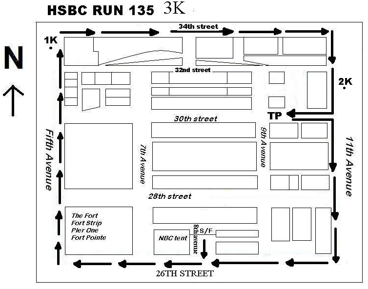 HSBC 135 RUN 3K MAP