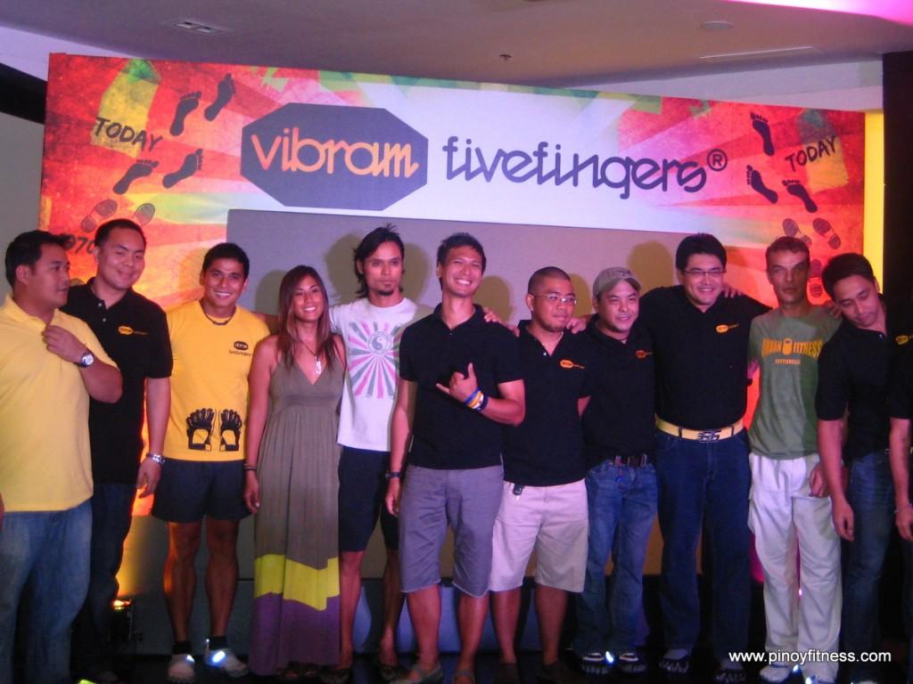 Vibram Five Fingers Media Launch