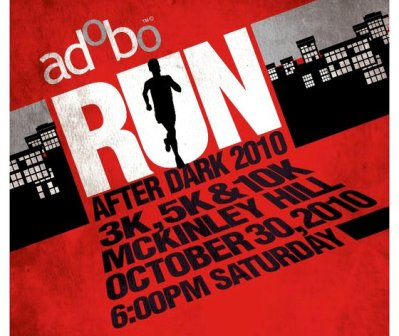 Adobo Run 2010 Race Results and photos