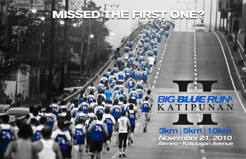 Big Blue Katipunan Run 2010 Singlet