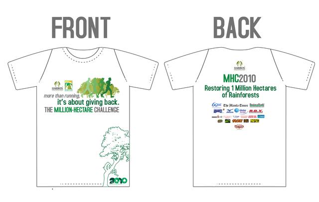 Haribon Tshirt Design