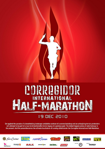 Corregidor International Marathon Poster