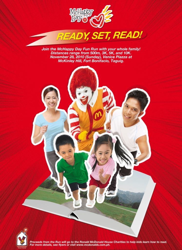 McHappy Day Fun Run Poster