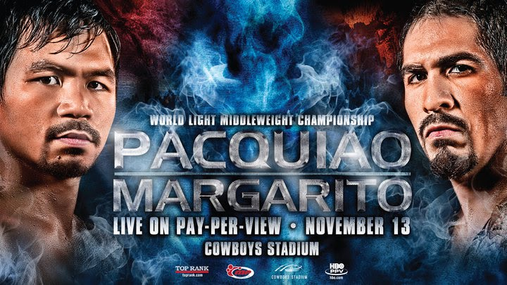 Pacquiao vs Margarito Official Banner - Horizontal