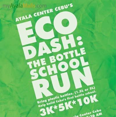 eco dash - bottle school run - cebu 2010