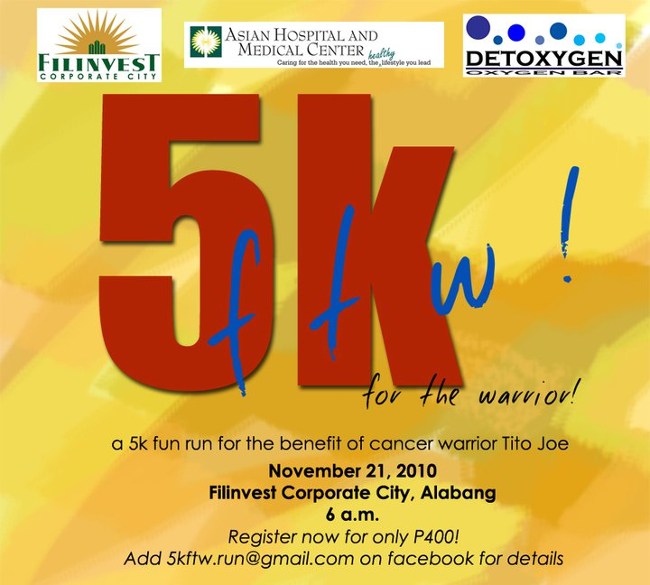 5K FTW Registration Form