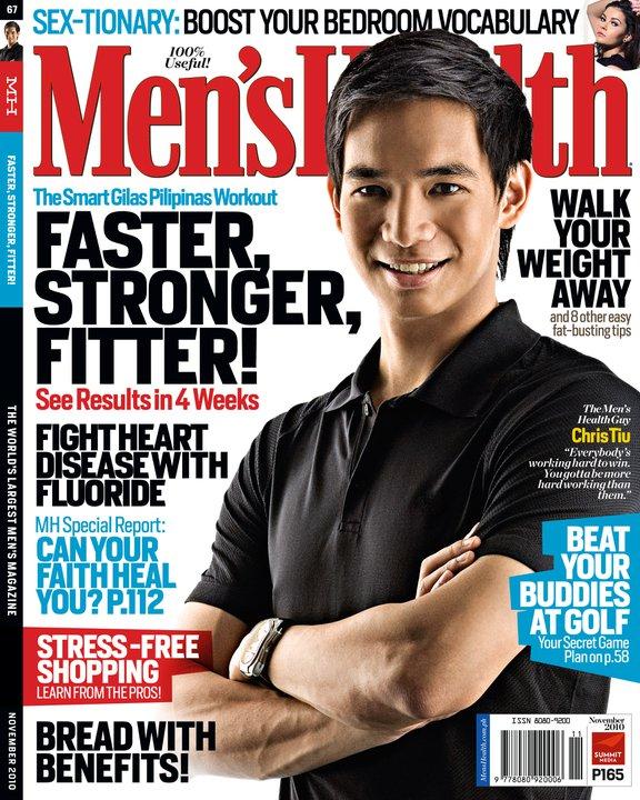 men's health november 2010 chris tiu