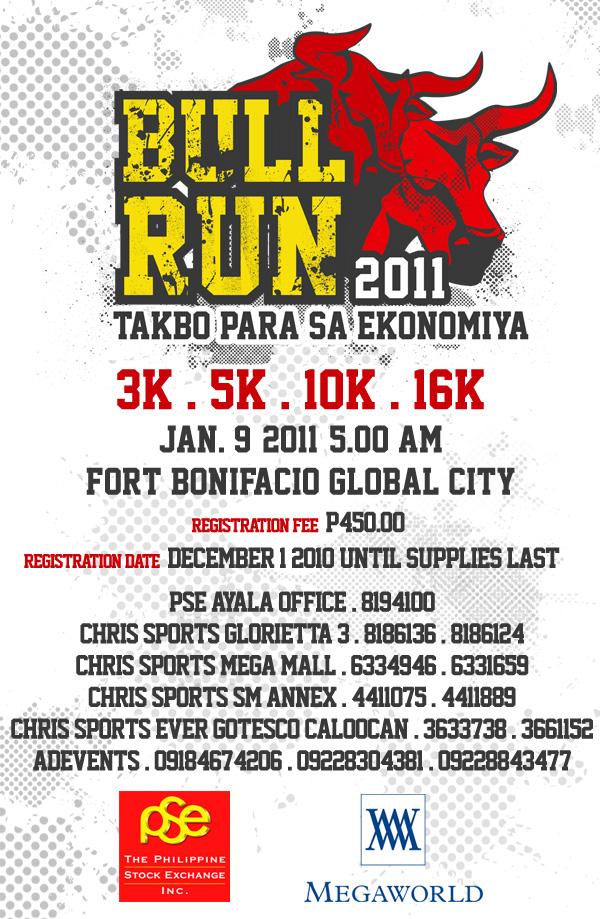 PSE Bull Run 2011 Poster