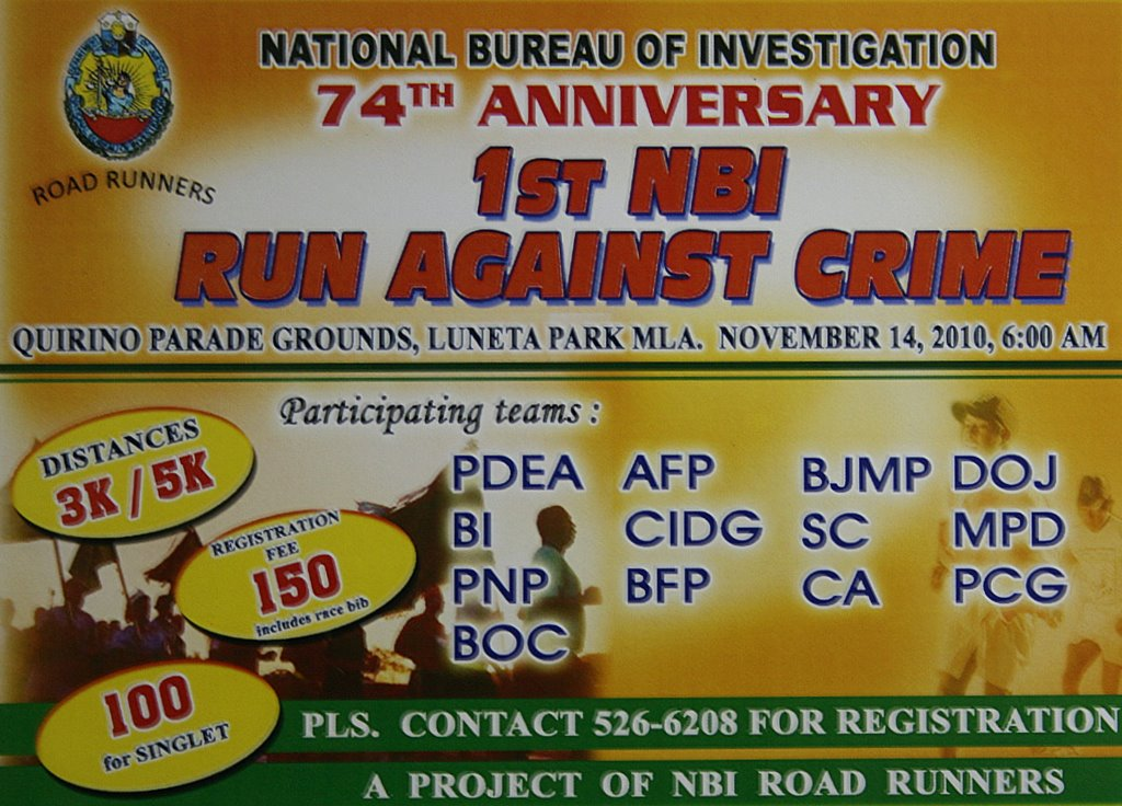 run againts crime 2010