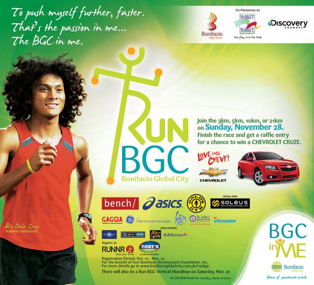 run bgc 2010 results and photos