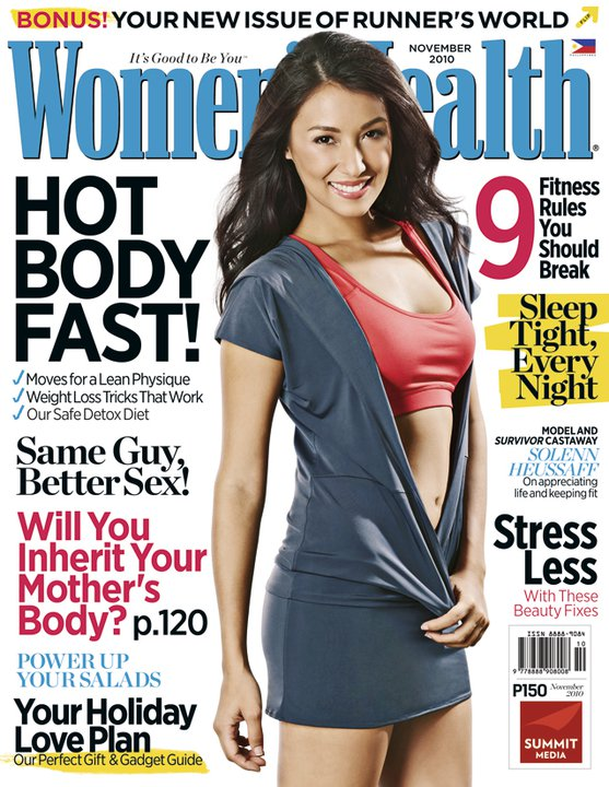 women's health november 2010 - solenn heussaff