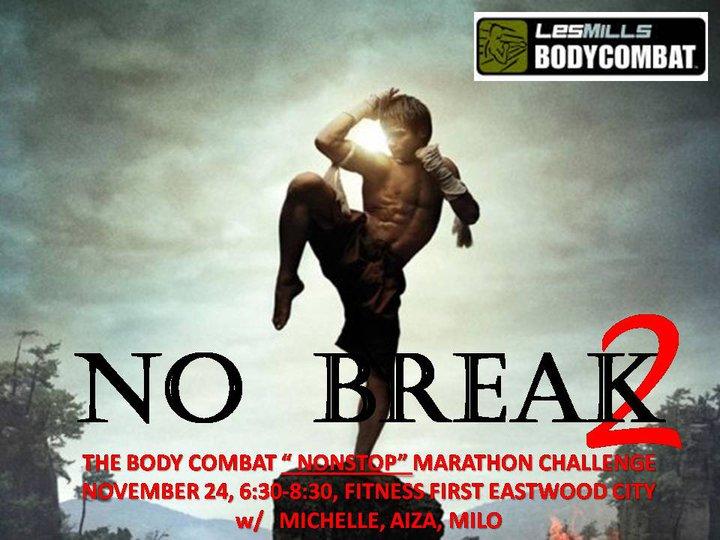 fitness first-body-combat-marathon-challenge