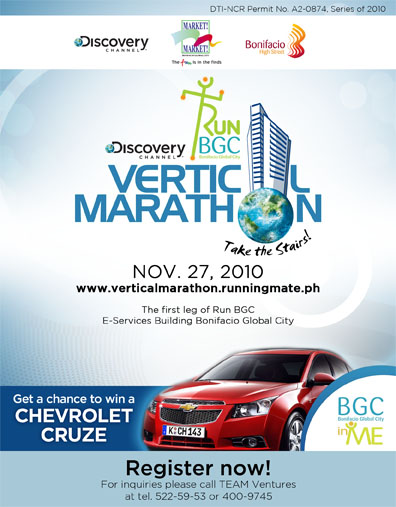 vertical marathon BGC Race Results