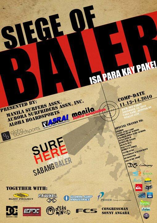 siege of baler - surf comp