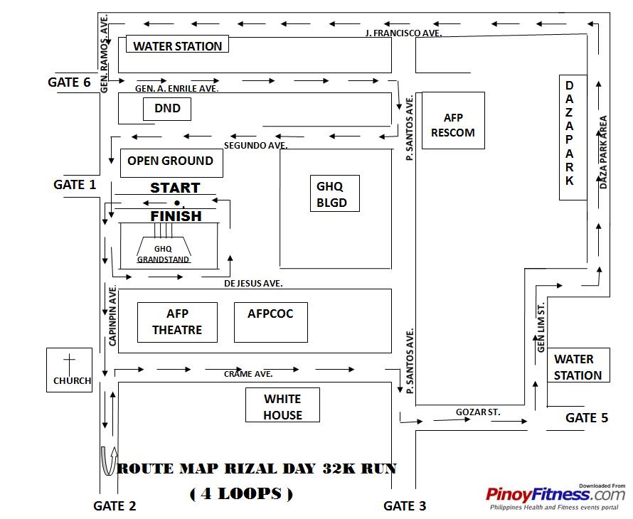 32k-rizal-day-run-2010-map