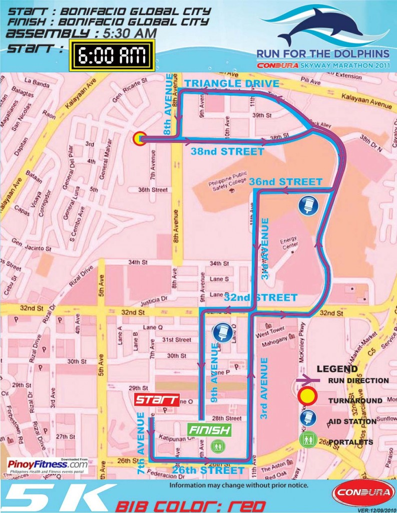 5k-condura-marathon-2011-map