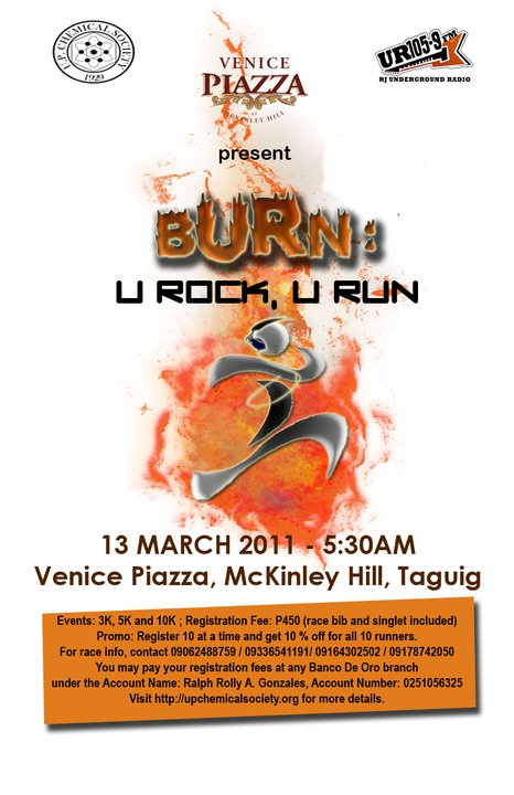 BURN-u-rock-u-run