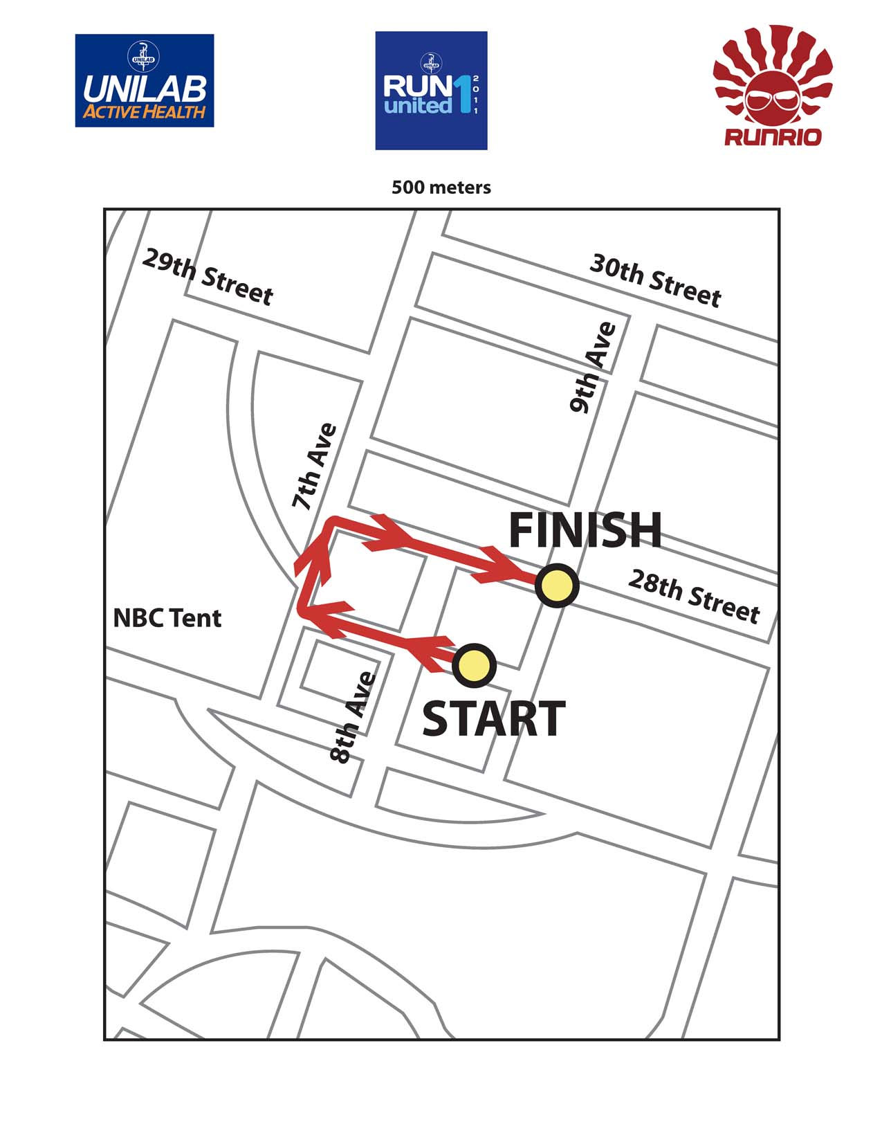 500m-Unilab-Race-Maps-2011