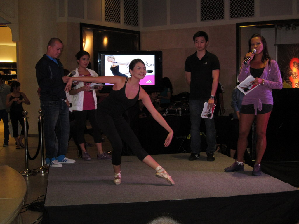 adidas techfit ballerina