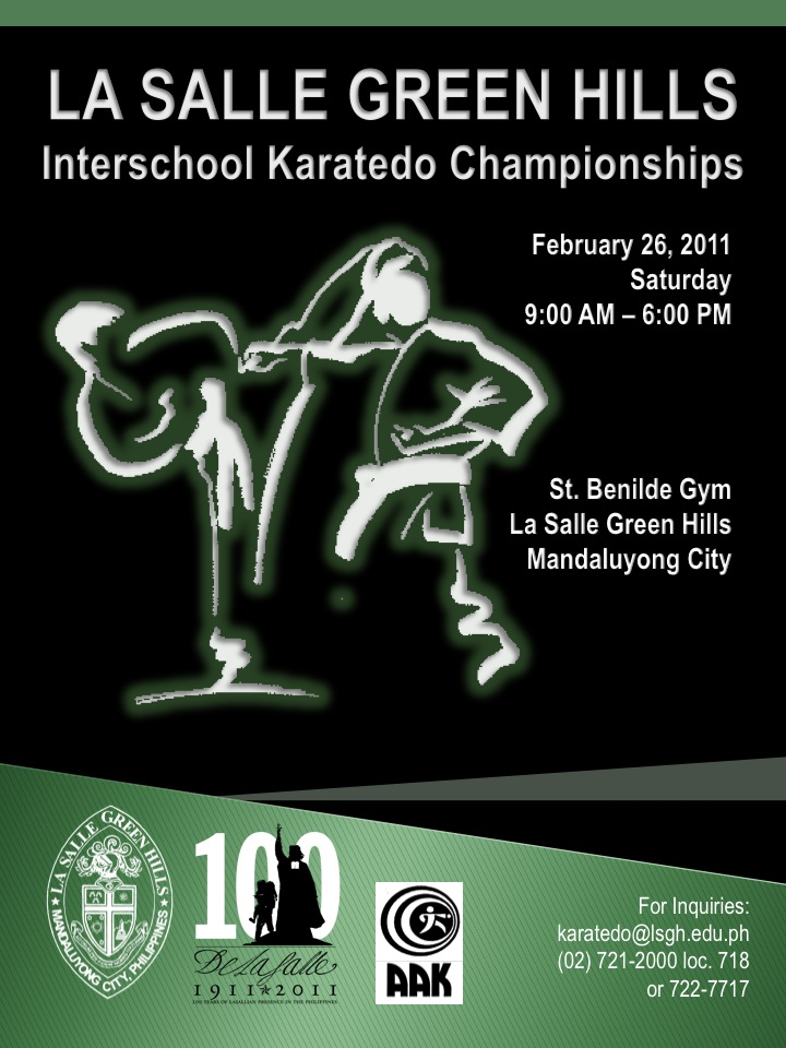 LSGH-Interschool-Karatedo-Championships-Poster