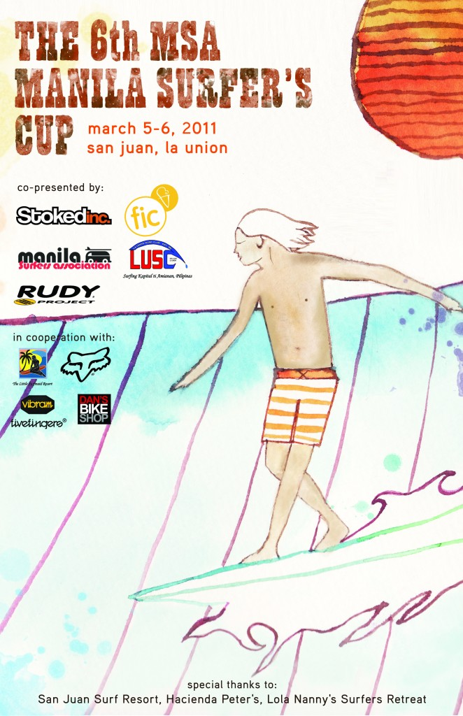 MSA Surfing Poster March 2011