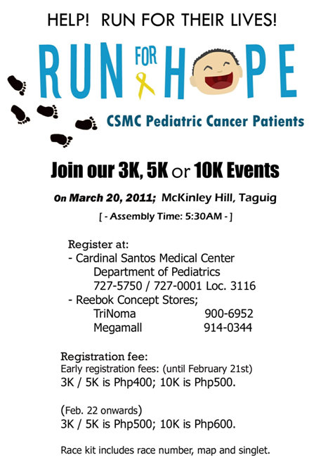 run for hope 2011 race results