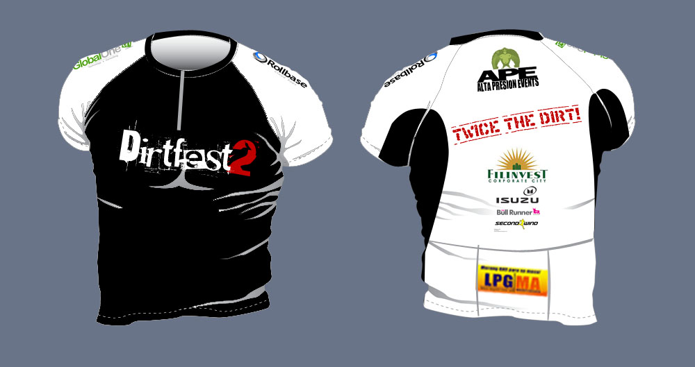 dirtfest 2 jersey design 2011