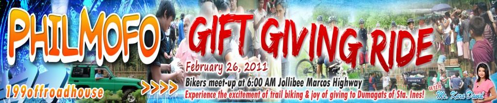 philmofo give giving ride 2011