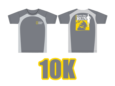 natgeo run 10k shirt design 2011