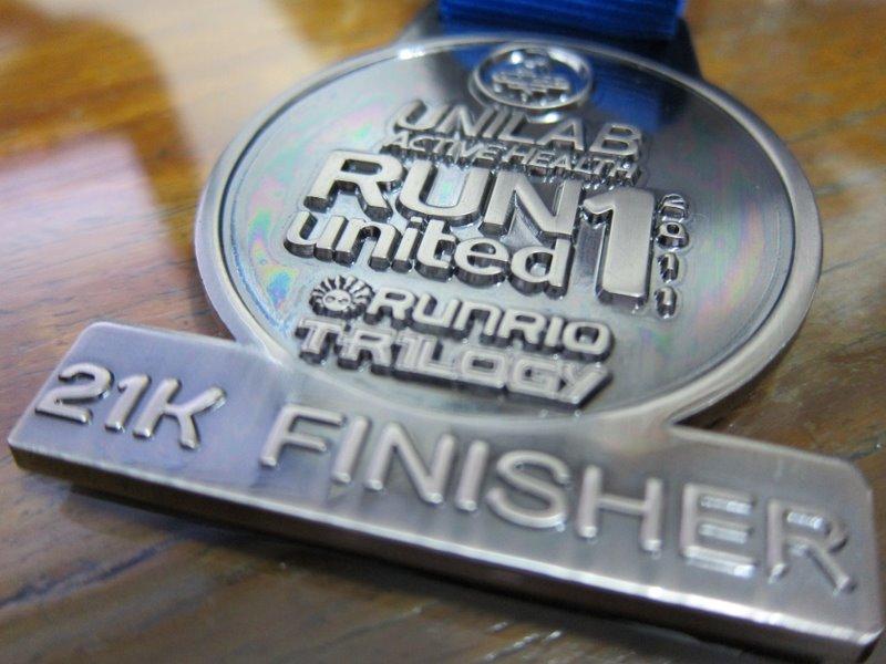 Unilab Run United 1 - Finishers Medal 2011