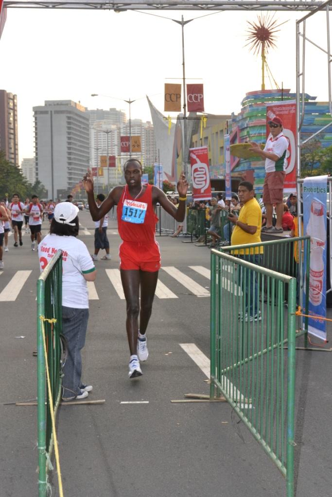 Kenyan Daniel Coringgo Yakult