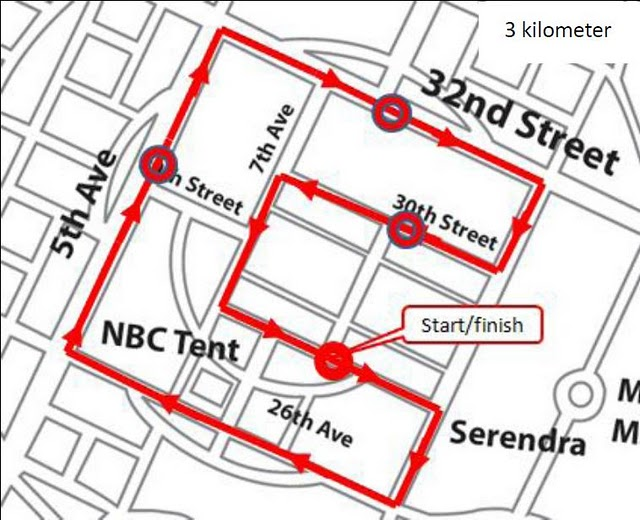 aace the good run 3k race map route