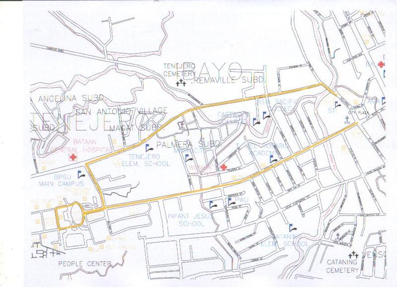 bataan-run-3k-map