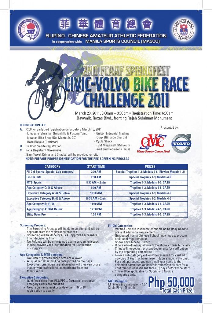 civic-volvo bike race 2011