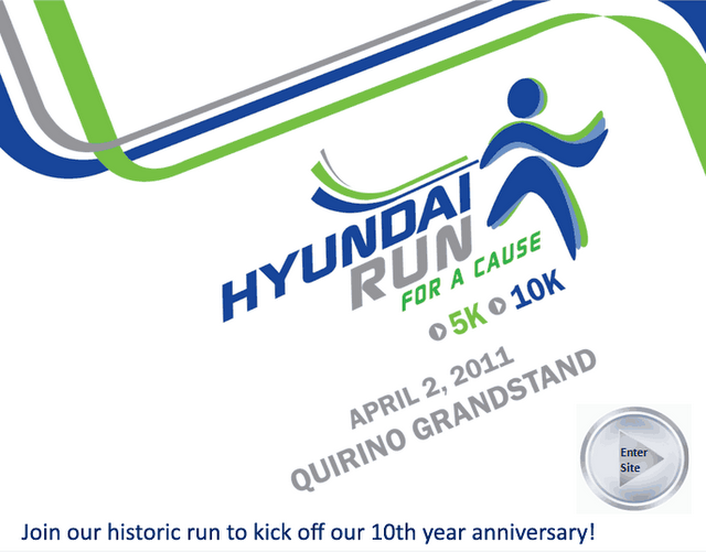 hyundai fun run race results and photos