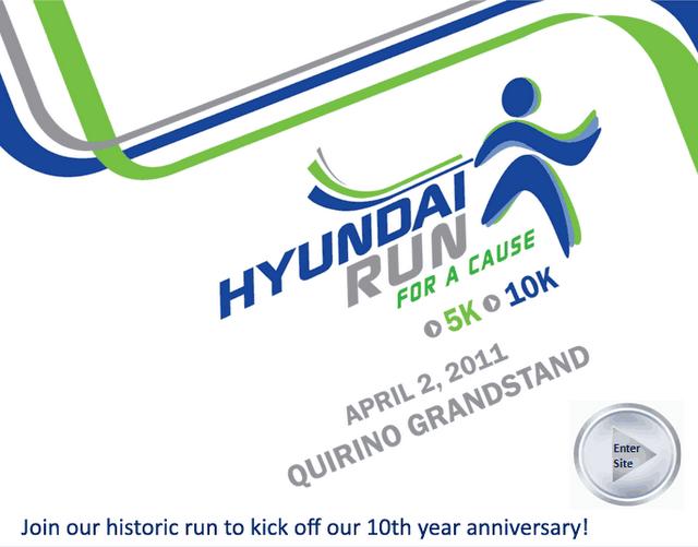 hyundai fun run 2011 quirino grandstand